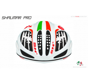 BIKE HELMET SHALIMAR PRO WHITE MATT/IT FLAG