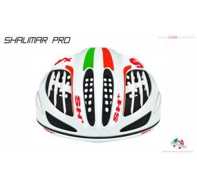 CASCO BICICLETTA SHALIMAR PRO BIANCO OPACO/ITALIA