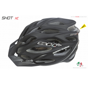 BIKE HELMET SHOT XC BLACK MATT