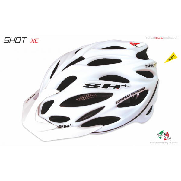 BIKE HELMET SHOT XC WHITE MATT