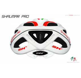BIKE HELMET SHALIMAR WHITE MATT/BLUE