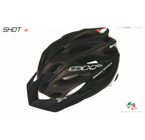 BIKE HELMET SHOT R1 BLACK MATT