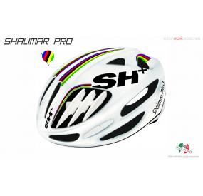 BIKE HELMET SHALIMAR PRO WHITE MATT/IRIDE