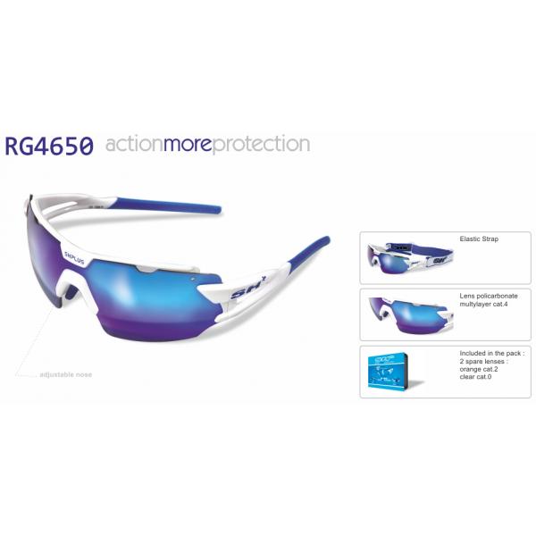 """MULTISPORT  -  GLASSES  """"RG 4650"""" WHITE/BLUE"""