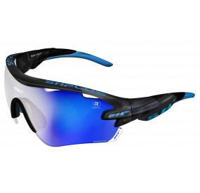 "SPORTGLASSES ""RG 5100""REACTIVE FLASH GRAPHITE  lens photcromic blue cat.1-3"
