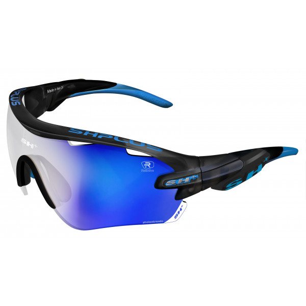 "SPORTGLASSES ""RG 5100""REACTIVE FLASH GRAPHITE  lens photcromic blue cat.1-3"