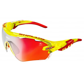 "SPORTGLASSES ""RG 5100""REACTIVE FLASH CRYSTAL YELLOW lens photocromic red cat.1-3"