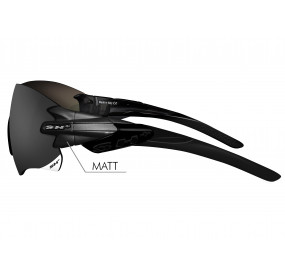 "SPORTGLASSES ""RG 5200"" BLACK MATT smoke lens cat.3"