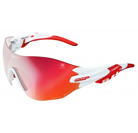 OCCHIALE SPORTIVO RG 5200 WX REACTIVE FLASH BIANCO/rosso cat. 1-3