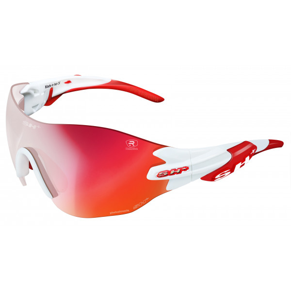 "SPORTGLASSES ""RG 5200 WX REACTIVE FLASH"" WHITE/red cat.1-3"