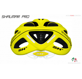 BIKE HELMET SHALIMAR PRO YELLOW FLUO MATT