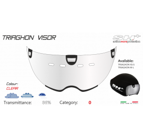 VISOR FOR TRIAGHON CLEAR