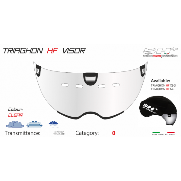 VISOR FOR TRIAGHON HF CLEAR