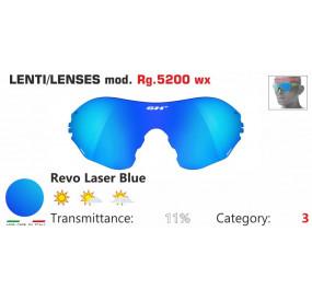 LENTE SPECCHIATA BLU RG 5200WX
