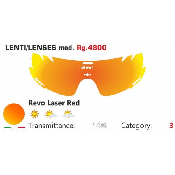 LENTE ROSSA SPECCHIATA RG 4800