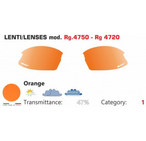 ORANGE LENSES RG 4750-4720