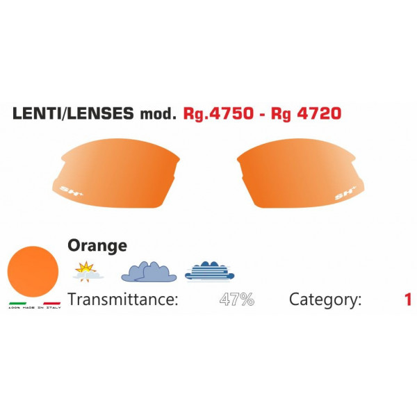 ORANGE LENSES RG 4750-4720