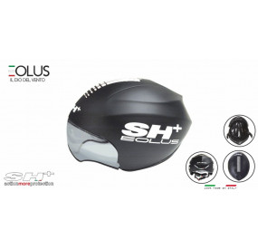 BIKE HELMET senior EOLUS BLACK/WHITE - 55/60 - S/L