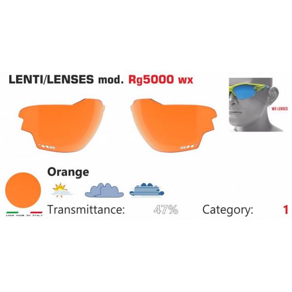 LENTE ARANCIONE RG 5000 WX