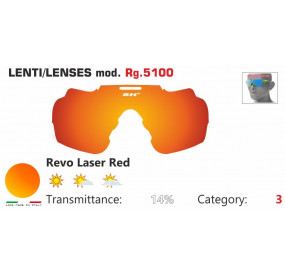 LENSES RG 5100 REVO LASER RED
