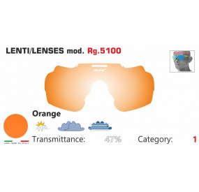 LENSES RG 5100 ORANGE
