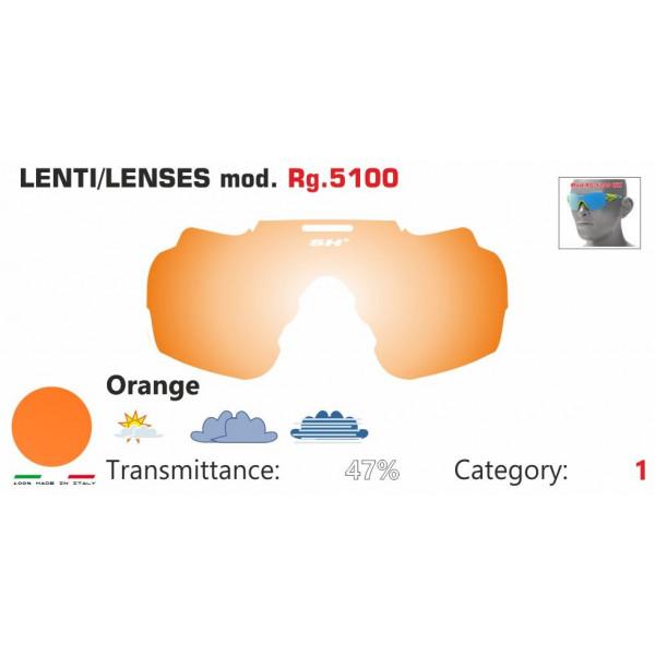 LENTE ARANCIONE RG 5100