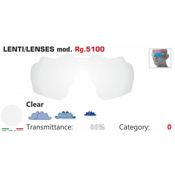 LENTE TRASPARENTE RG 5100