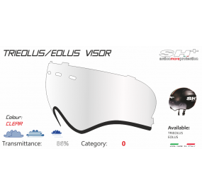 VISOR FOR TRIEOLUS/EOLUS CLEAR
