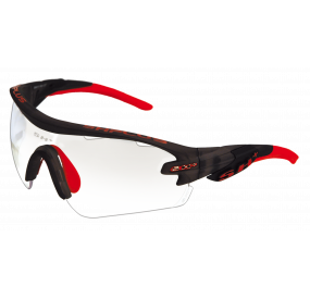 "MULTISPORT - GLASSES ""RG 5100 REACTIVE PRO CRYSTAL GRAPHITE/RED"""